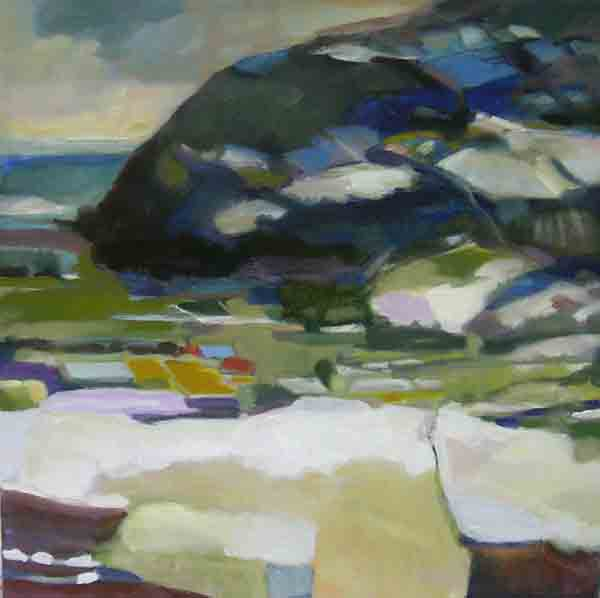 turtle hill oil 2005 51x61 cm juried for Les Femmeuse 2006