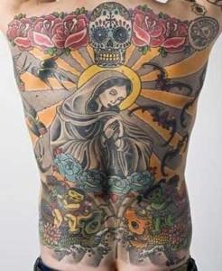 Tattoo , Virgin Mary