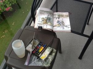 Sketchbook, Tofino, 2014