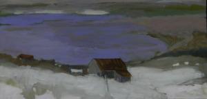 Purple Haze, Les Éboulements, oil, 12x24