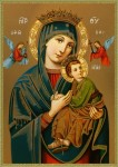 Our Lady of Perpetual Help, 15th century Byzantine icon
