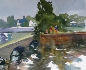 Linda Denis, Fisherman, Coteau Landing