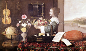 Sebastian Stoskopff, Five Senses of life, oil, 1633