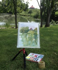 Plein Air, Coteau du Lac, Caran d'Arch, FANCOLOUR 15
