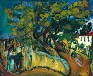 Cagnes Landscape with Tree c.1925-6 Chaim Soutine 1893-1943 Bequeathed by John Levy 1977 http://www.tate.org.uk/art/work/T02132
